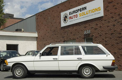 This 1980 Mercedes-Benz 300 TD with only 29,000 original miles just completed a minor mechanical restoration including upgrading all the fuel hoses and filters for use with Bio-Diesel.