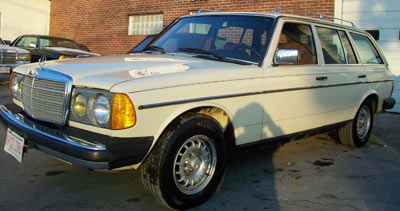 "A 1983 Mercedes-Benz 300TDT in DB623 Ivory has been in the same family for all of it's 235,407 miles. Affectionately known as ""Lulu"", this w123 chassis wagon, now in it's 2nd generation of ownership, was recently in for heater repair, routine maintenance, pump timing and full enrichment adjustments, new tire and alignment, and a full exterior detail."