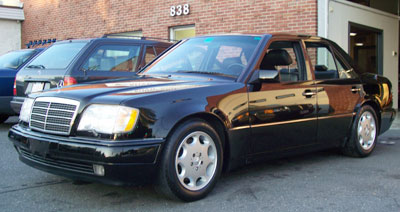 1994 Mercedes-Benz was the last year for the W124 Chassis 500s. This 94 E500 in Black (DB040) was in the shop for front brake rotors and pads replacement and four new Michelin snow tires.