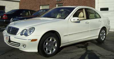 This 2005 Mercedes-Benz C240 4-Matic was recently in for Service 'A' and a new remote key.