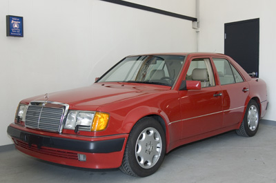 The Mercedes-Benz 500 E was produced as a joint venture between Porsche and Mercedes-Benz from 1992 to 1994. The cars were hand built by Porsche in their Zuffenhausen factory and reportedly took 18 days per car. Only 1505 of these rare performance sedans were exported to the US and as a result are cherished by enthusiasts.