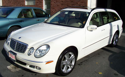 2006 Mercedes-Benz E350 4matic Wagon in for it's Scheduled 'A' Service.
