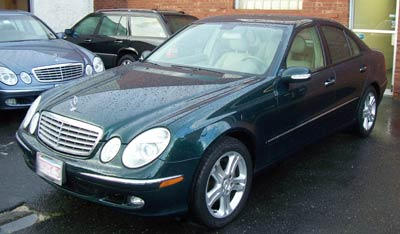 A newly purchased 2005 Mercedes-Benz E500 in for scheduled A-service and replacement of valve cover gaskets.
