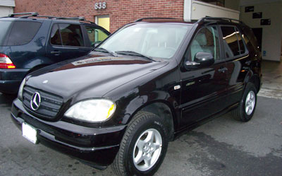 This 2000 Mercedes-Benz ML320 with 105k was recently in for outer tie rod replacement and an alignment.